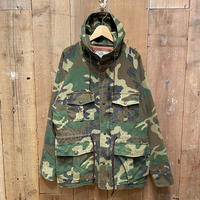 90's~ RED HEAD Camouflage Mountain Parka