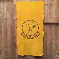 70's Snoopy Felt Blanket