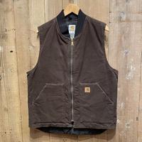 Carhartt Duck Arctic Quilt Lined Vest BROWN #2