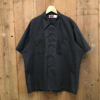 80's BIG MAC Work Shirt D.NAVY