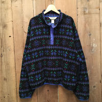 80's L.L.Bean Snap Fleece Jacket