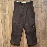 Dickies Double Knee Work Pants BROWN  W34 (New)
