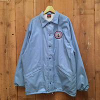 90's  HILTON  Nylon Coach Jacket  L.BLUE
