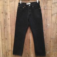 Levi's 505 Black Cotton Pants  W 32