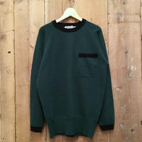 80's~ SCOOP Pocket Wool Sweater