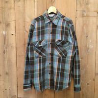 80's FIVE BROTHER Heavyweight Flannel Shirt