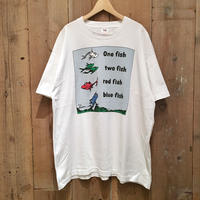 90's FRUIT OF THE LOOM Fish Tee