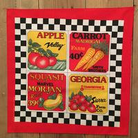 80's~ Vegetables  Bandana #127