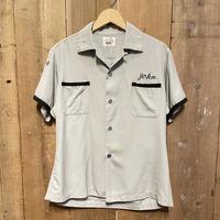 50's~ USAF Souvenir Bowling Shirt