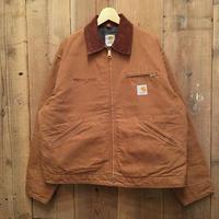 90's Carhartt Blanket Lined Detroit Jacket BROWN