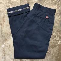 Dickies Flannel Lined Work Pants NAVY  W 34