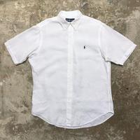 Polo Ralph Lauren Linen B.D Shirt WHITE