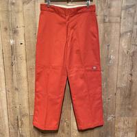 Dickies Double Knee Work Pants ORANGE  W34