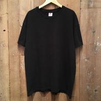 90's Hanes Plain Tee BLACK