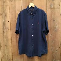 Polo Ralph Lauren B.D Linen Shirt NAVY