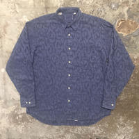 80's Unknown Jacquard Weave Shirt