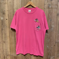 90's~ Disney Mickey&Minnie Embroidered Tee