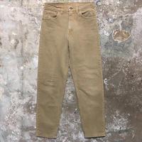 90's Levi's 550 Color Denim Pants  KHAKI W : 32