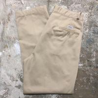 90's Polo Ralph Lauren Two Tuck Chino Pants KHAKI  W : 34