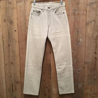 90's Levi's 501 Color Denim Pants L.GRAY W : 30