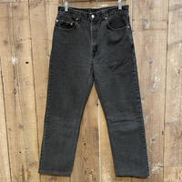 90's Levi's 505 Black Denim Pants  W 33