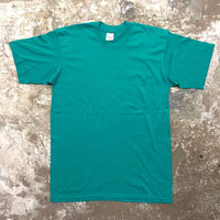 80's Unknown Plain Pocket Tee PEACOCK GREEN
