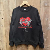 90's FRUIT OF THE LOOM The Heartthrob Cafe Sweat Shirt