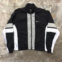 90's NIKE Nylon Jacket BLACK×WHITE