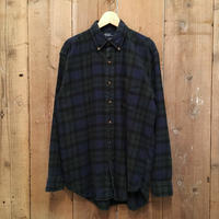 Polo Ralph Lauren Light Flannel  Shirt  BLACKWHATCH