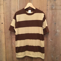 70's~ CAMPUS Striped Tee