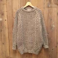70's~ glen columb kille Aran Knit Wool Sweater