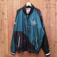 90's  PRO PLAYER Seattle Mariners Nylon Track Jacket