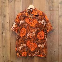 50's~ Kamehameha Cotton Aloha Shirt