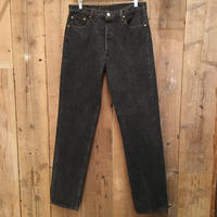 90's Levi's 501 Black Denim Pants W 36