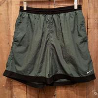 90's NIKE Nylon Swim Shorts GREEN