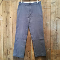 80's~ Dickies Work Pants BLUE GRAY W 36