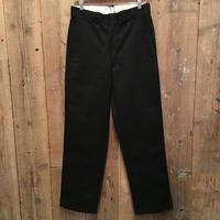80's Dickies Work Pants BLACK  W : 32