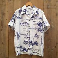 70's Polyester Aloha Shirt