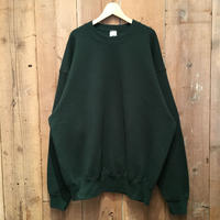 90's MUNSING WEAR Plain Sweatshirt D.GREEN