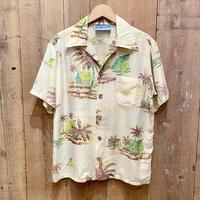 70's Ocean Pacific Silk Aloha Shirt