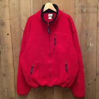 90's L.L.Bean Fleece Jacket RED