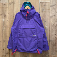 90's Columbia Nylon Anorak PURPLE