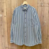 90's~ Eddie Bauer Cotton B.D Shirt