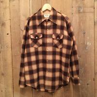 70's Wool shire Wool Shirt