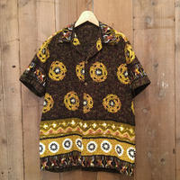 70's Unknown Cotton Aloha Shirt