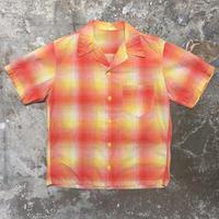 ~60's Unknown Cotton Open Collar Shirt