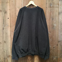 90's Tultex Plain Sweatshirt CHARCOAL