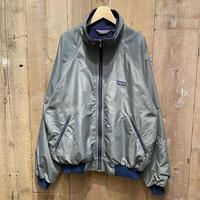 80's Patagonia Shelled Synchilla Jacket CHARCOAL