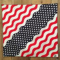 80's~ USA National Flag Bandana  #117