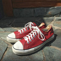 90's CONVERSE ALL STAR Leather Red US 10
